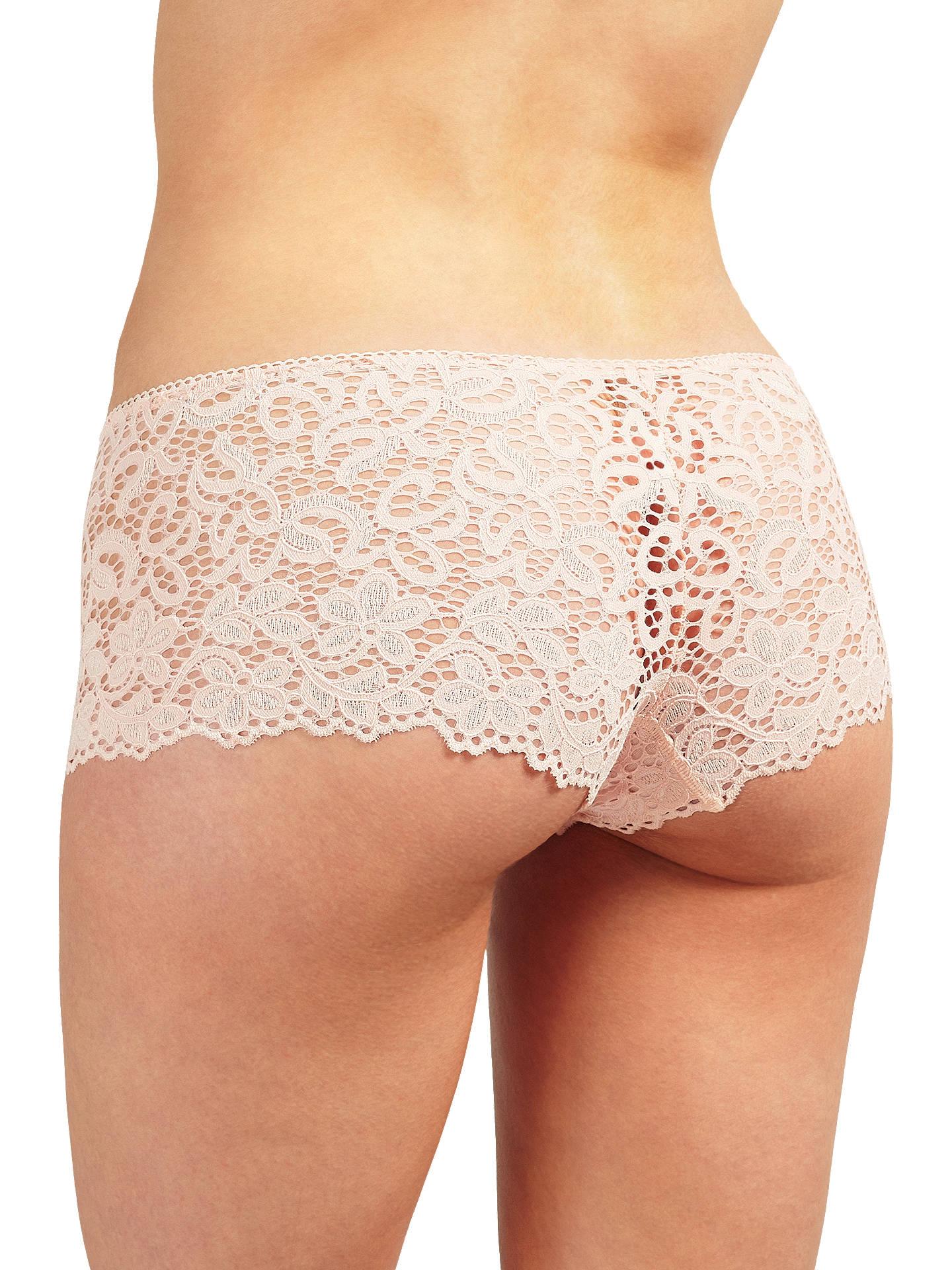 edfd587bdde ... Buy DKNY Classic Lace Boy Shorts, Blush, S Online at johnlewis.com ...