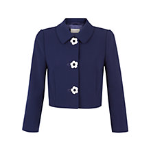 Buy Hobbs July Jacket, French Blue Online at johnlewis.com