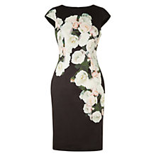 Buy Hobbs Eleanor Dress, Black/Multi Online at johnlewis.com