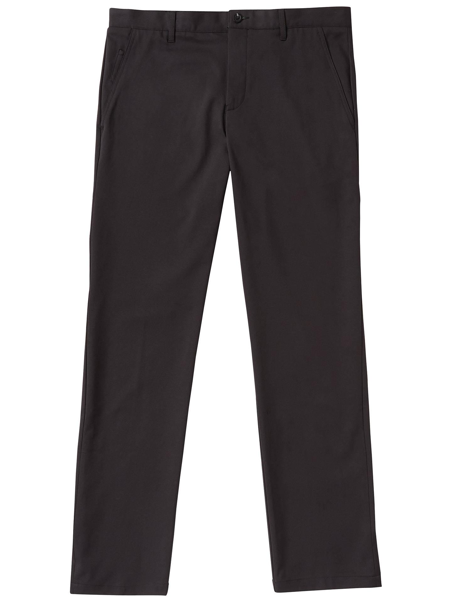 9c111eaef Buy BOSS Green Pro Golf Hakan Slim Fit Trousers, Black, 30R Online at  johnlewis ...