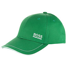 Buy BOSS Green Pro Golf Branded Baseball Cap, One Size Online at johnlewis.com