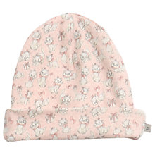 Buy Wheat Disney Baby Aristocat Marie Beanie Hat, Peony Online at johnlewis.com