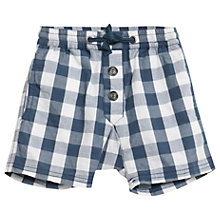 Buy Wheat Baby Fred Checked Shorts, Indigo Online at johnlewis.com
