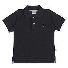 Buy Wheat Baby Anchor Polo Shirt Online at johnlewis.com