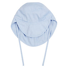 Buy Wheat Baby Cotton Sun Hat, Dove Online at johnlewis.com