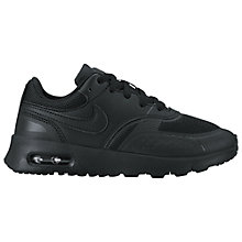 Buy Nike Children's Air Max Vision PS Trainers, Black Online at johnlewis.com