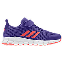 Buy Adidas Children's Rapida Flex Rip-Tape Trainers, Purple Online at johnlewis.com