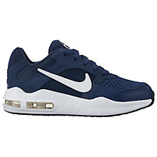 Buy Nike Children's Air Max Guile Trainers, Navy/White Online at johnlewis.com