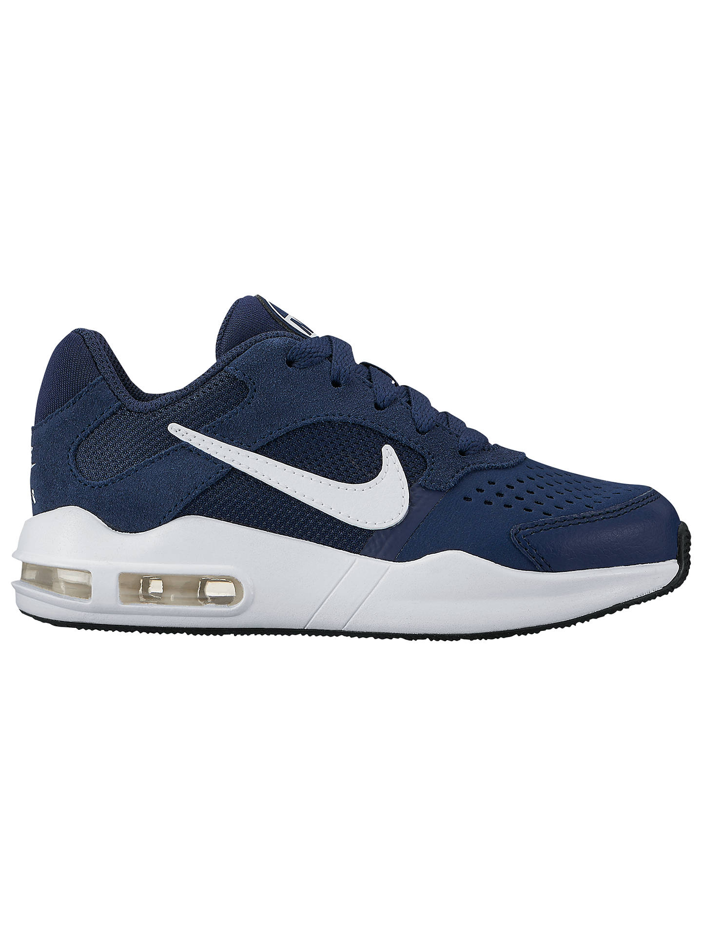 Anuncio promedio Disparates  Nike Children's Air Max Guile Trainers, Navy/White at John Lewis & Partners