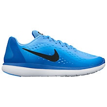 Buy Nike Children's Flex 2017 RN (GS) Trainers, Blue Online at johnlewis.com