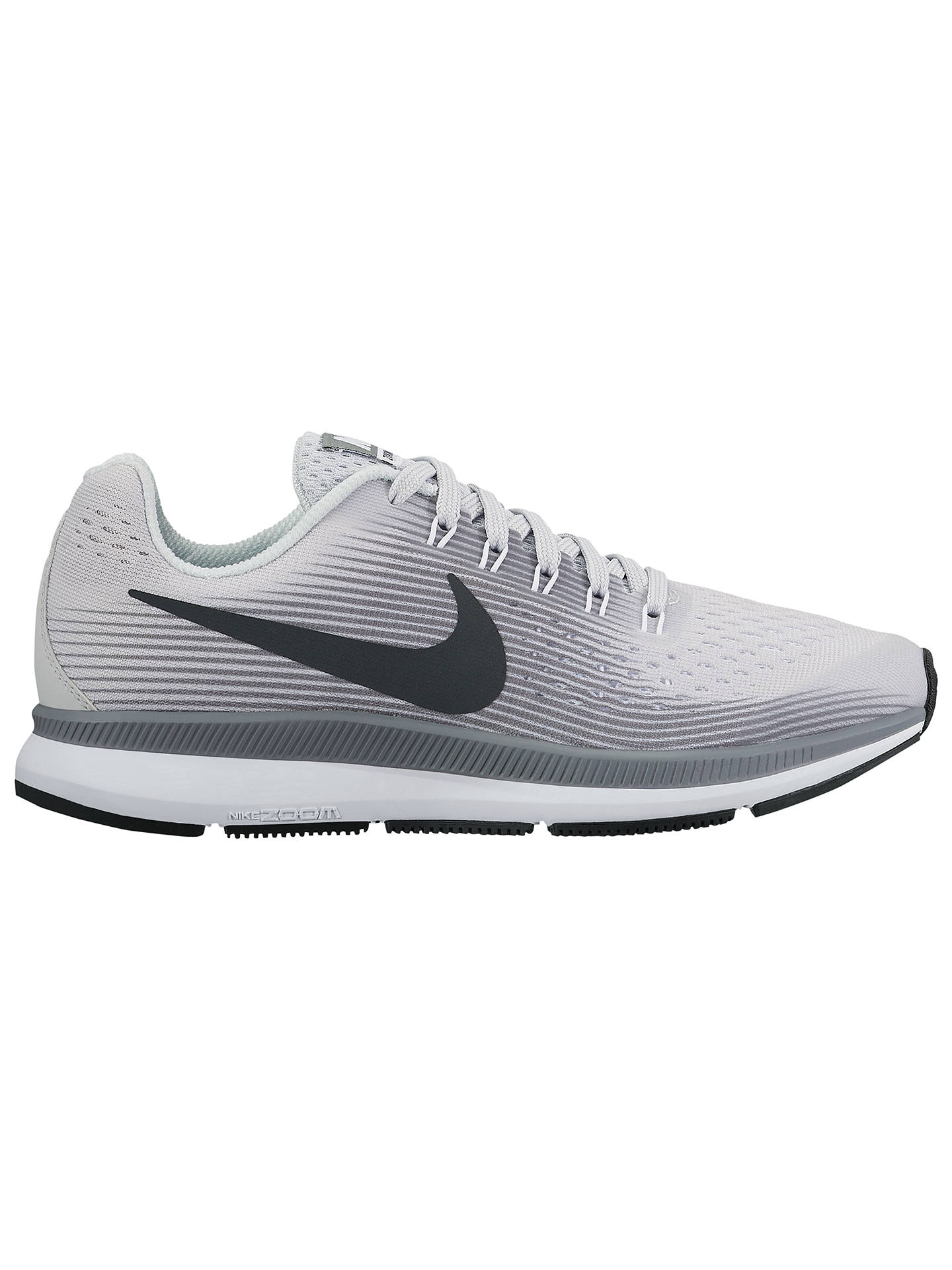 best sneakers af780 45f9f Nike Children's Air Zoom Pegasus 34 (GS) Running Shoes, Grey ...