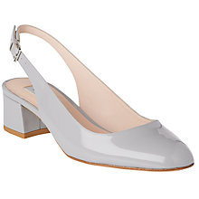 Buy L.K. Bennett Chloe Slingback Block Heeled Court Shoes Online at johnlewis.com