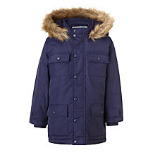 Buy John Lewis Boys' Explored Hooded Parka Coat Online at johnlewis.com