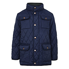 Buy John Lewis Boys' Quilted Jacket, Navy Online at johnlewis.com