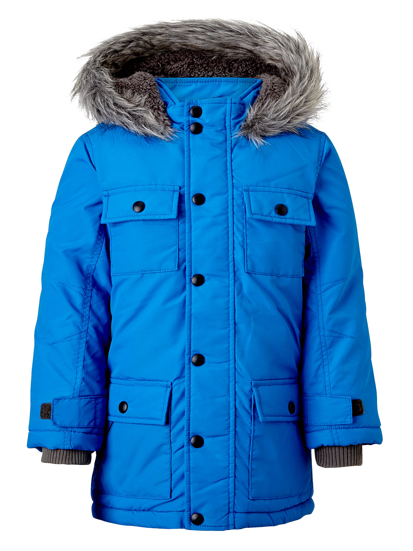 1d09e8e4585e John Lewis Boys  Explorer Hooded Parka Coat at John Lewis   Partners