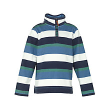 Buy Fat Face Jamie Half Neck Sweatshirt, Blue Online at johnlewis.com