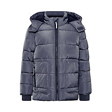 Buy John Lewis Boys' Padded Jacket, Grey Online at johnlewis.com