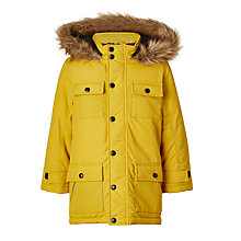 Buy John Lewis Boys' Explorer Hooded Parka Coat Online at johnlewis.com