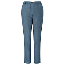 Buy Harris Wilson Egypte Relaxed Trousers, Blue Online at johnlewis.com