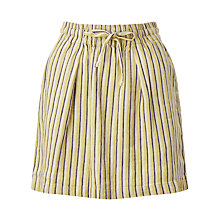 Buy Harris Wilson Epopee Stripe Linen Skirt, Multi Online at johnlewis.com