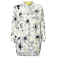 Buy Numph Kira Printed Shirt, Cloud Dancer Online at johnlewis.com