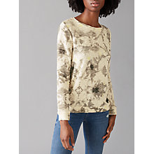 Buy Numph Ayume Printed Jumper, Cloud Dancer Online at johnlewis.com
