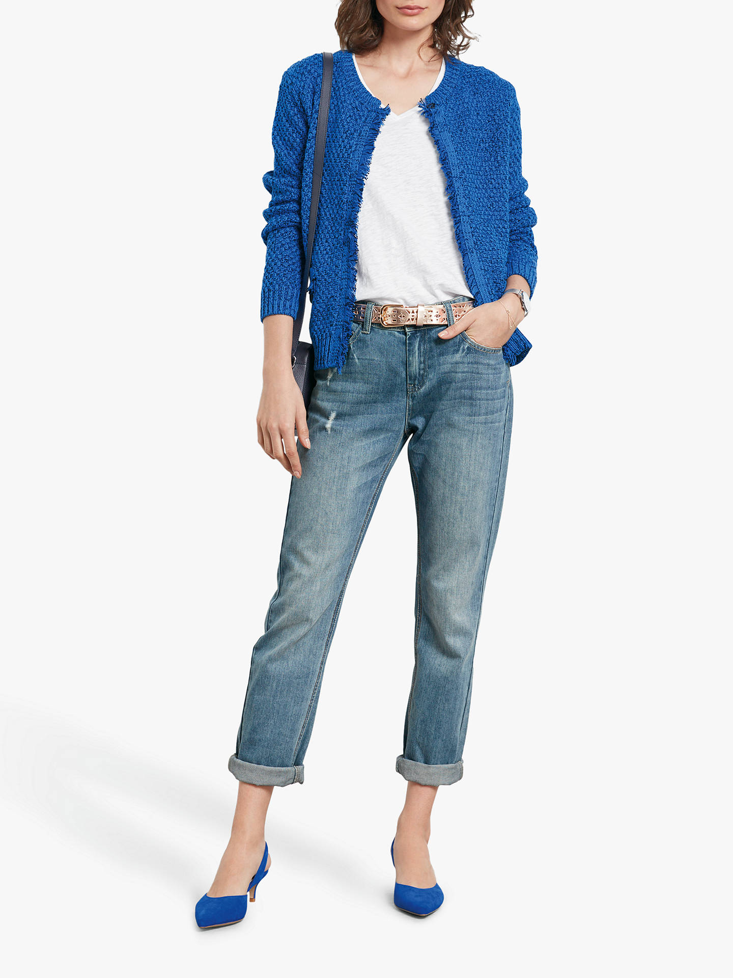 Buy hush Boyfriend Jeans, Denim, 8 Online at johnlewis.com