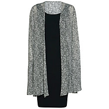 Buy Gina Bacconi Itsy Crepe Dress And Chiffon Cape Online at johnlewis.com