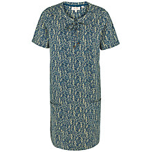 Buy Fat Face Becky Antique Woodblock Dress, Navy Online at johnlewis.com