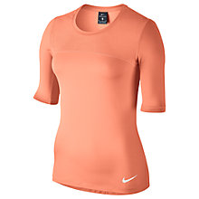 Buy Nike Nike Pro Hypercool Training Top, Orange Online at johnlewis.com