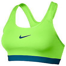 Buy Nike Pro Classic Padded Sports Bra Online at johnlewis.com