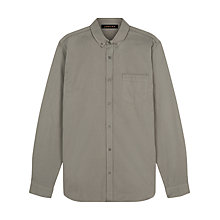 Buy Jaeger Piping Detail Regular Fit Shirt, Green Online at johnlewis.com