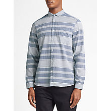 Buy Kin by John Lewis Varied Stripe Shirt, Blue Online at johnlewis.com
