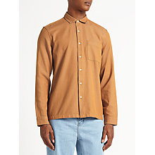 Buy Kin by John Lewis Chambray Cotton Shirt, Red Clay Online at johnlewis.com