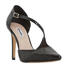 Buy Dune Constanse Two Part Stiletto Court Shoes Online at johnlewis.com