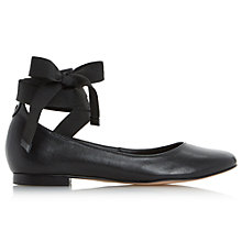 Buy Dune Handsel Tie Up Ballet Pumps Online at johnlewis.com