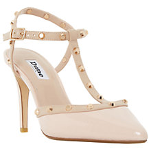Buy Dune Catelyn Studded T-Bar Court Shoes Online at johnlewis.com