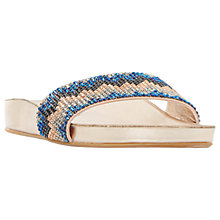 Buy Dune Laizer Embellished Flat Sandals Online at johnlewis.com