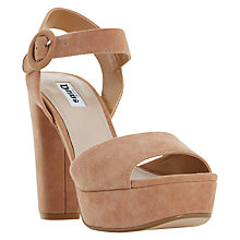 Buy Dune Monacco Block Heeled Platform Sandals Online at johnlewis.com