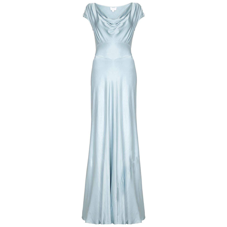 Ghost Fern Dress | Sky Light at John Lewis