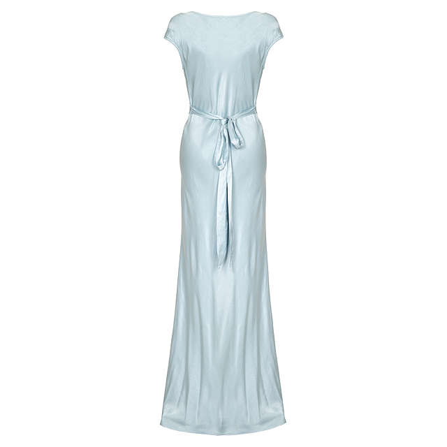 BuyGhost Fern Dress, Sky Light, XS Online at johnlewis.com