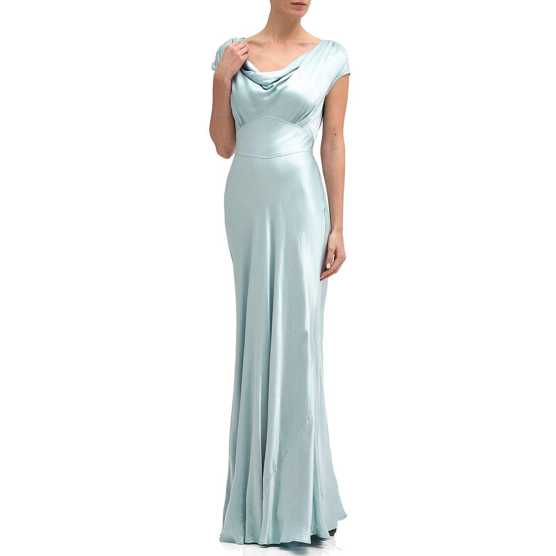 Ghost Fern Dress   Sky Light at John Lewis