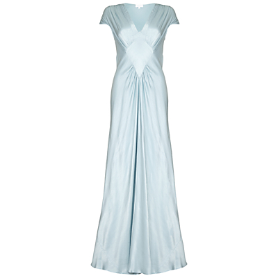 Vintage Inspired Cocktail Dresses, Party Dresses Ghost Iris Satin Dress £265.00 AT vintagedancer.com