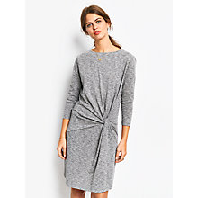 Buy hush Knot Jersey Dress, Grey Marl Online at johnlewis.com