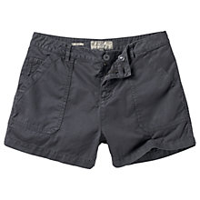 Buy Fat Face Worker Shorts, Charcoal Online at johnlewis.com