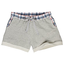 Buy Fat Face Jersey Loop Back Shorts, Grey Online at johnlewis.com