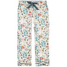 Buy Fat Face Garden Floral Classic Lounge Trousers, Multi Online at johnlewis.com