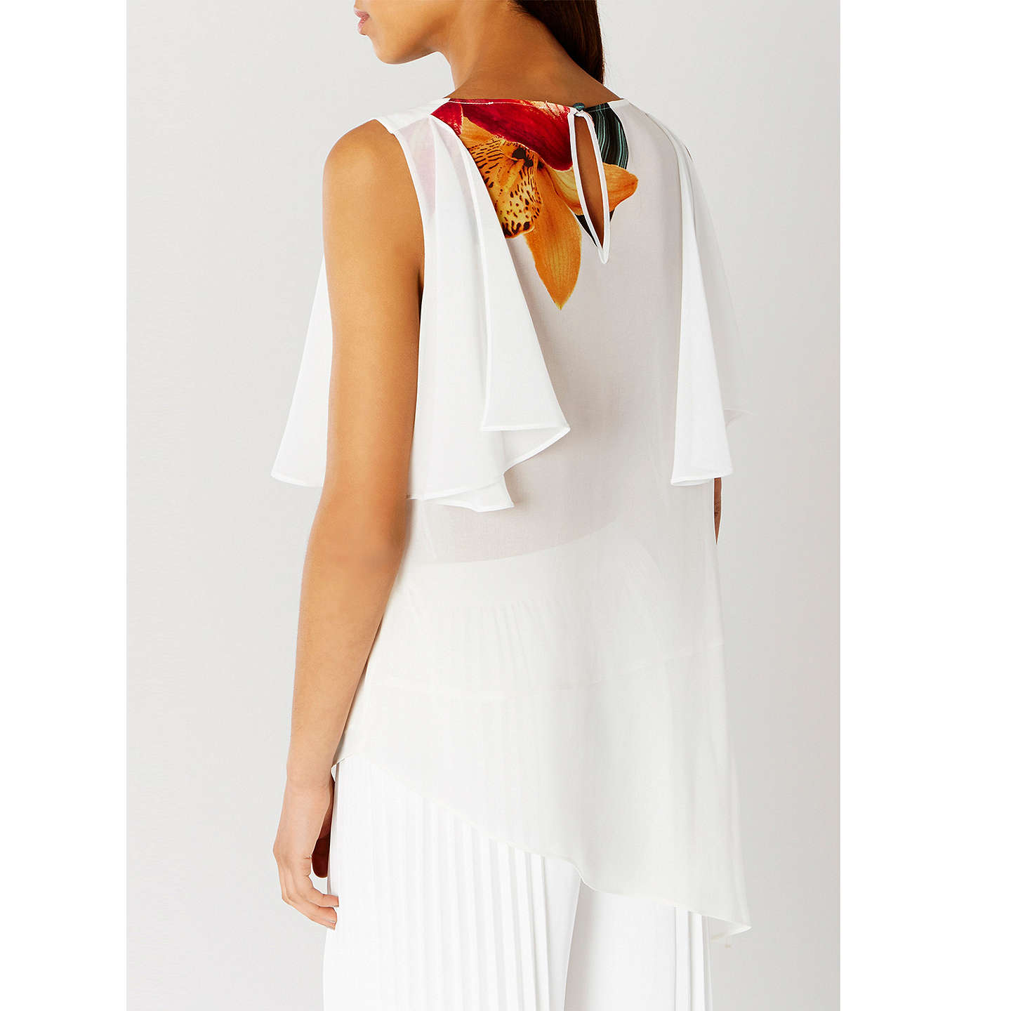 BuyCoast Marrakesh Soft Drape Top, Multi, 6 Online at johnlewis.com