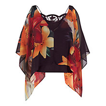 Buy Coast Delphi Printed Top, Multi Online at johnlewis.com