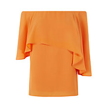 Buy Coast Caledonia Bardot Top, Orange Online at johnlewis.com
